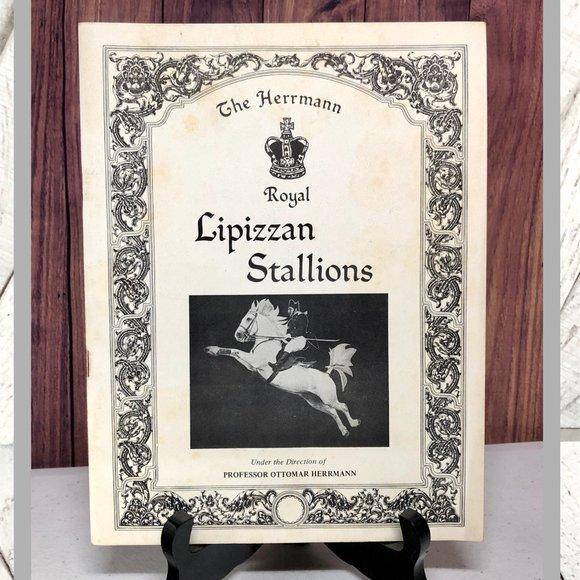 Vintage Other - Vntg Herrmann Royal Lipizzan Stallions Pamphlet